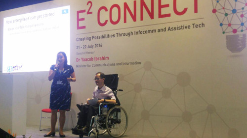 Jing Yan & Boon Keng Presenting at E2 Connect Conference