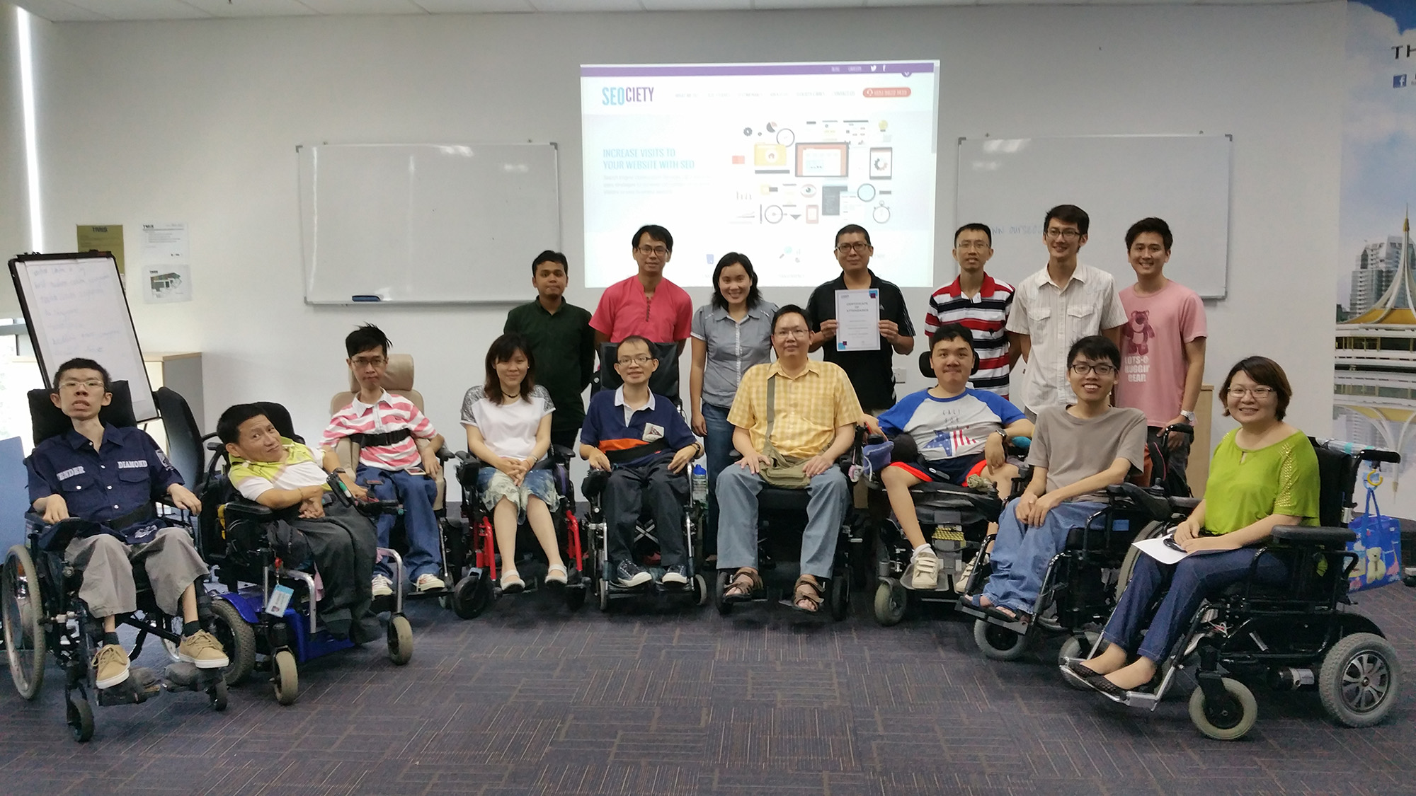 SEM and SEO Training: SEOciety Collaboration with SG Enable